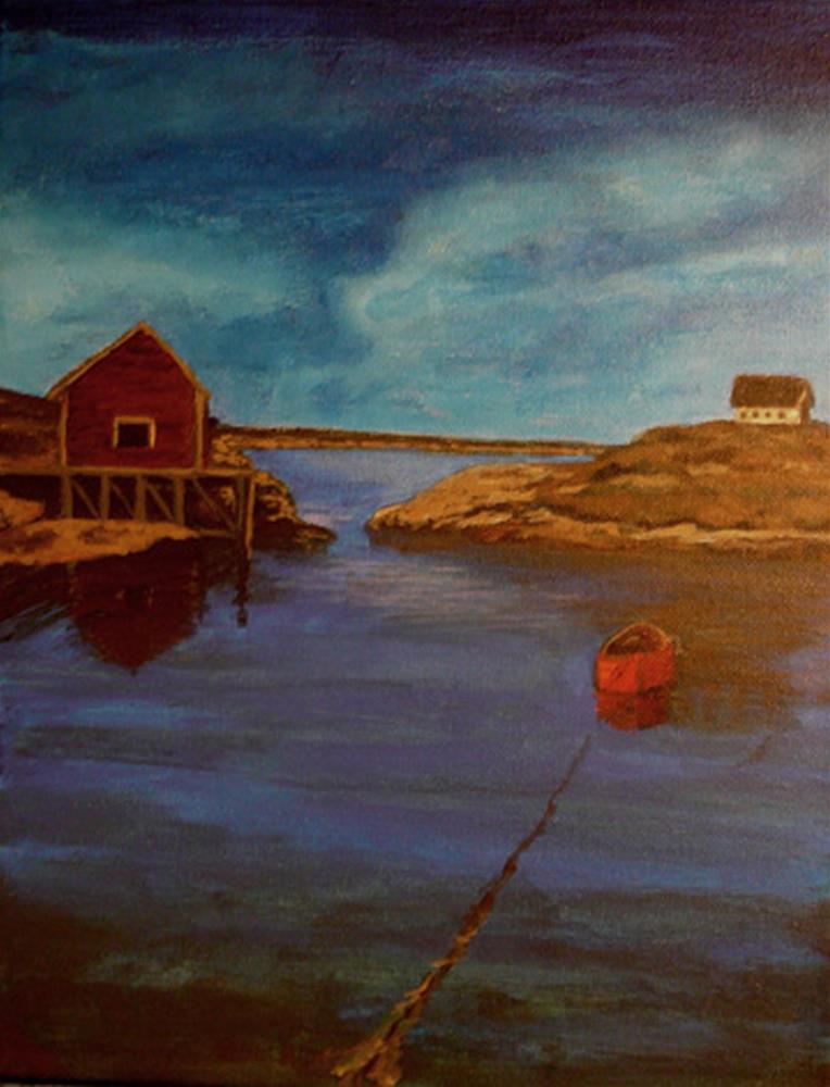 """Labrador Bay"" original fine art by Amanda Stacey"