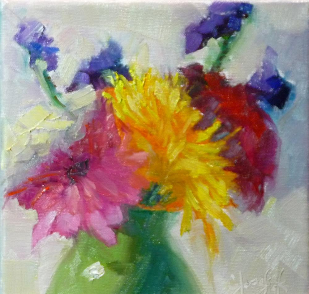 """Ready for Spring"" original fine art by Carol Josefiak"