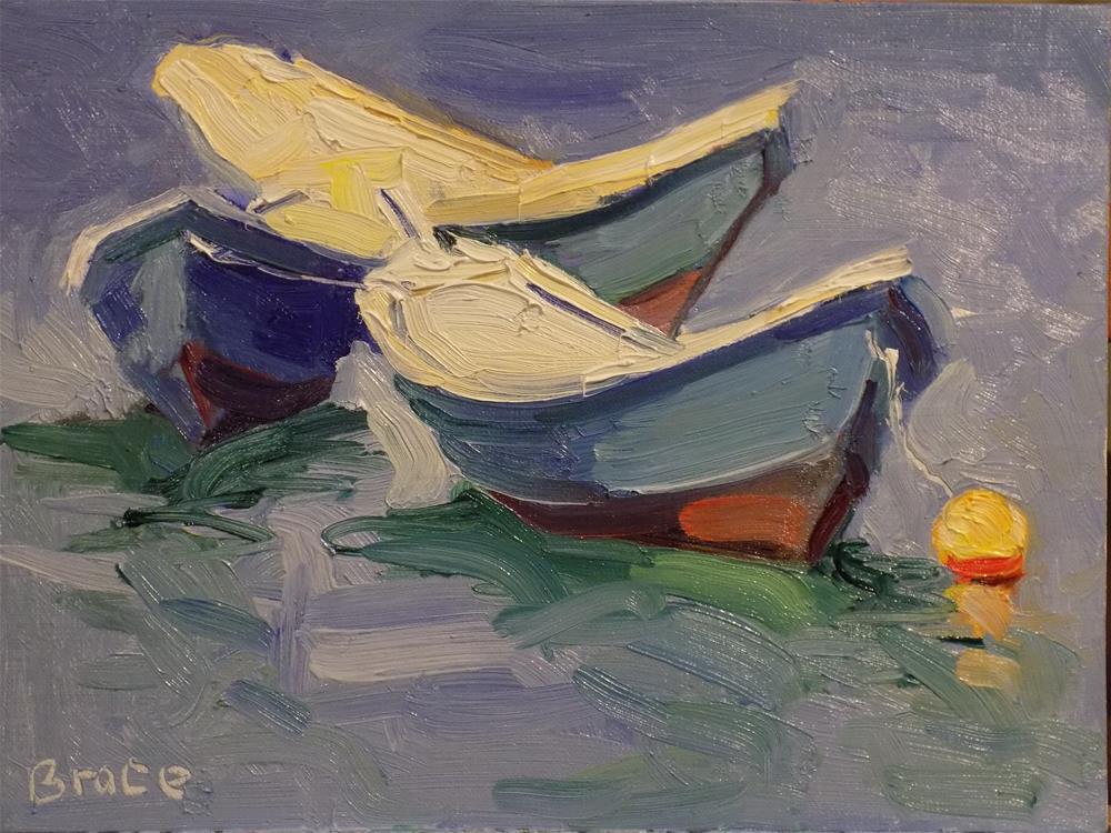 """""""Cerulean In The Sun"""" original fine art by Rita Brace"""