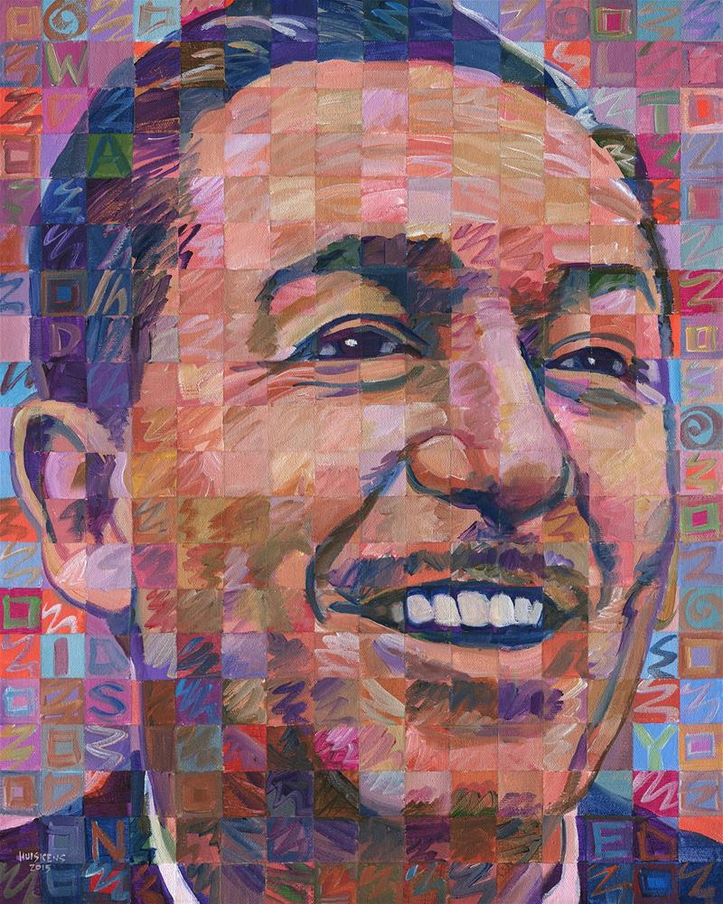 """Walt Disney"" original fine art by Randal Huiskens"