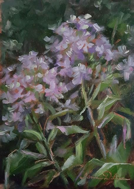 """Summer Phlox"" original fine art by Tammie Dickerson"