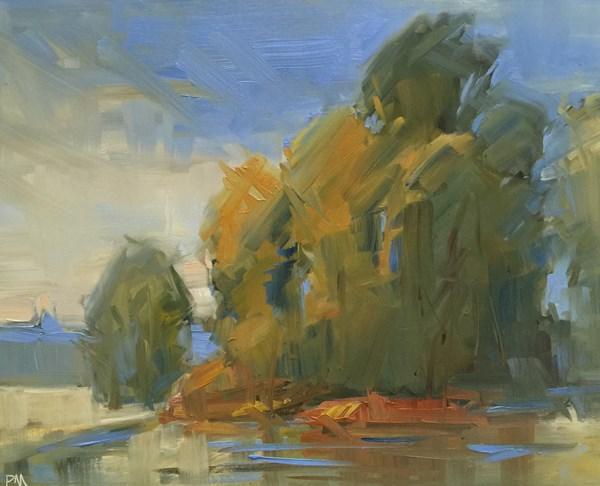 """Marshall Island"" original fine art by Patti McNutt"