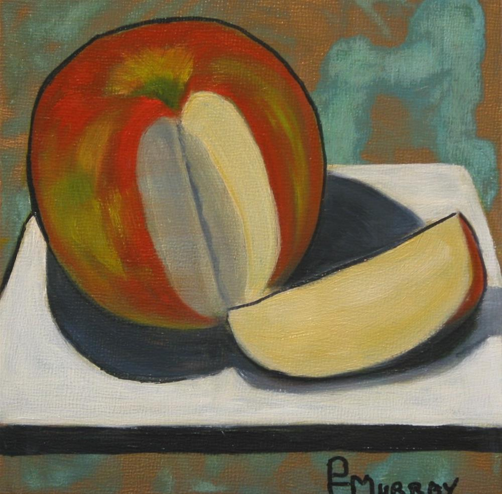"""An Apple a Day..."" original fine art by Patricia Murray"