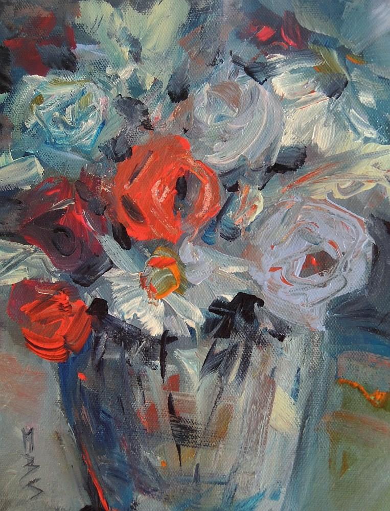 """Warm Spot"" original fine art by Mary Schiros"
