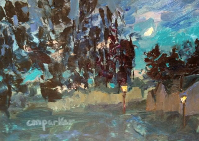"""Untitled"" original fine art by Christine Parker"