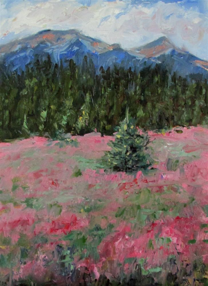 """8 x 10 inch oil"" original fine art by Linda Yurgensen"