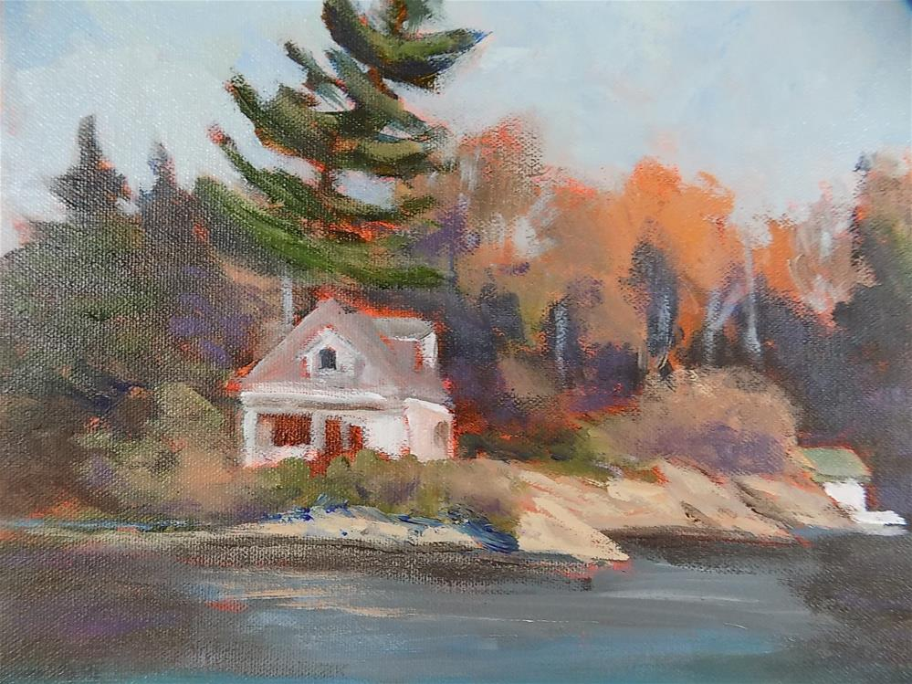 """The Cottage"" original fine art by Joan Reive"
