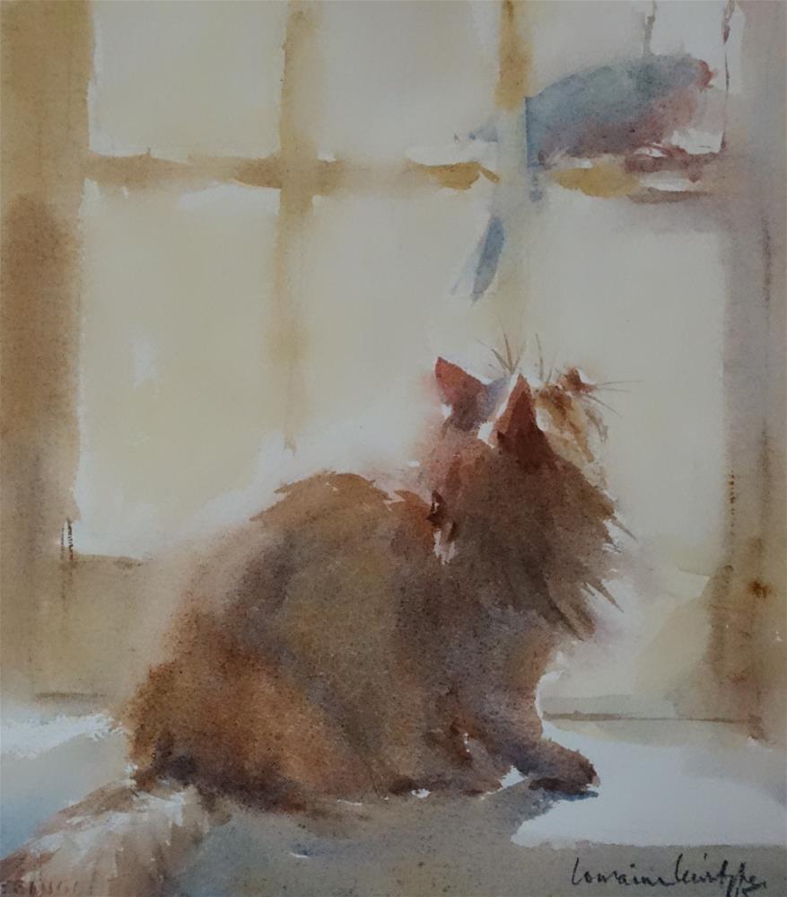 """""""Intense"""" original fine art by Lorraine Lewitzka"""