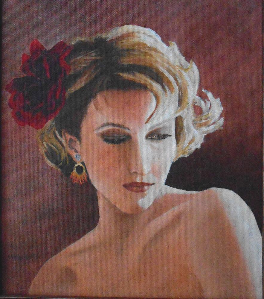 """Dance With Light"" original fine art by Wendi Vann Johnson"