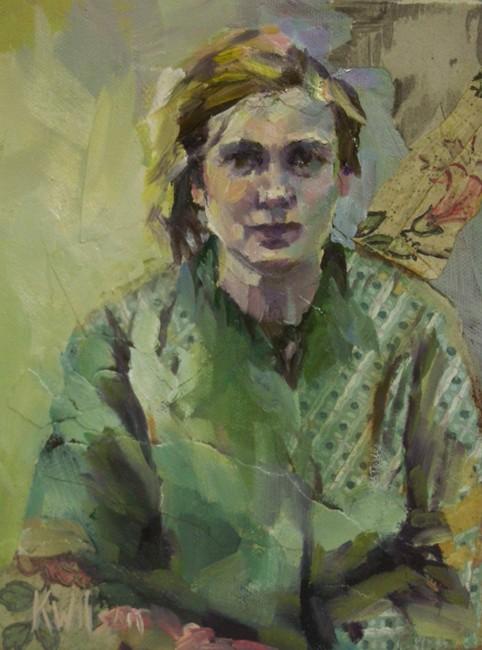 """""""Prairie Flower"""" original fine art by Katie Wilson"""