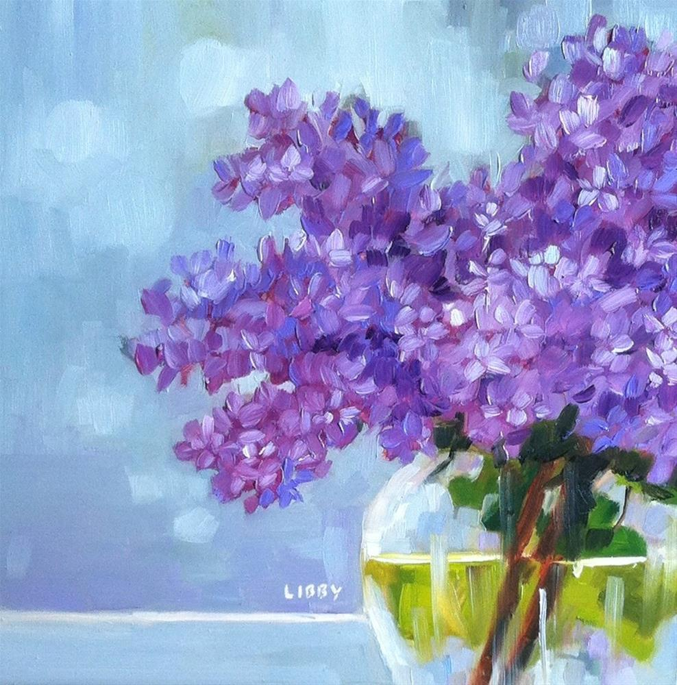 """""""Through the Glass"""" original fine art by Libby Anderson"""