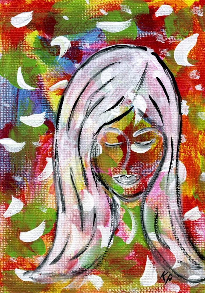 """She Dreams"" original fine art by Kali Parsons"