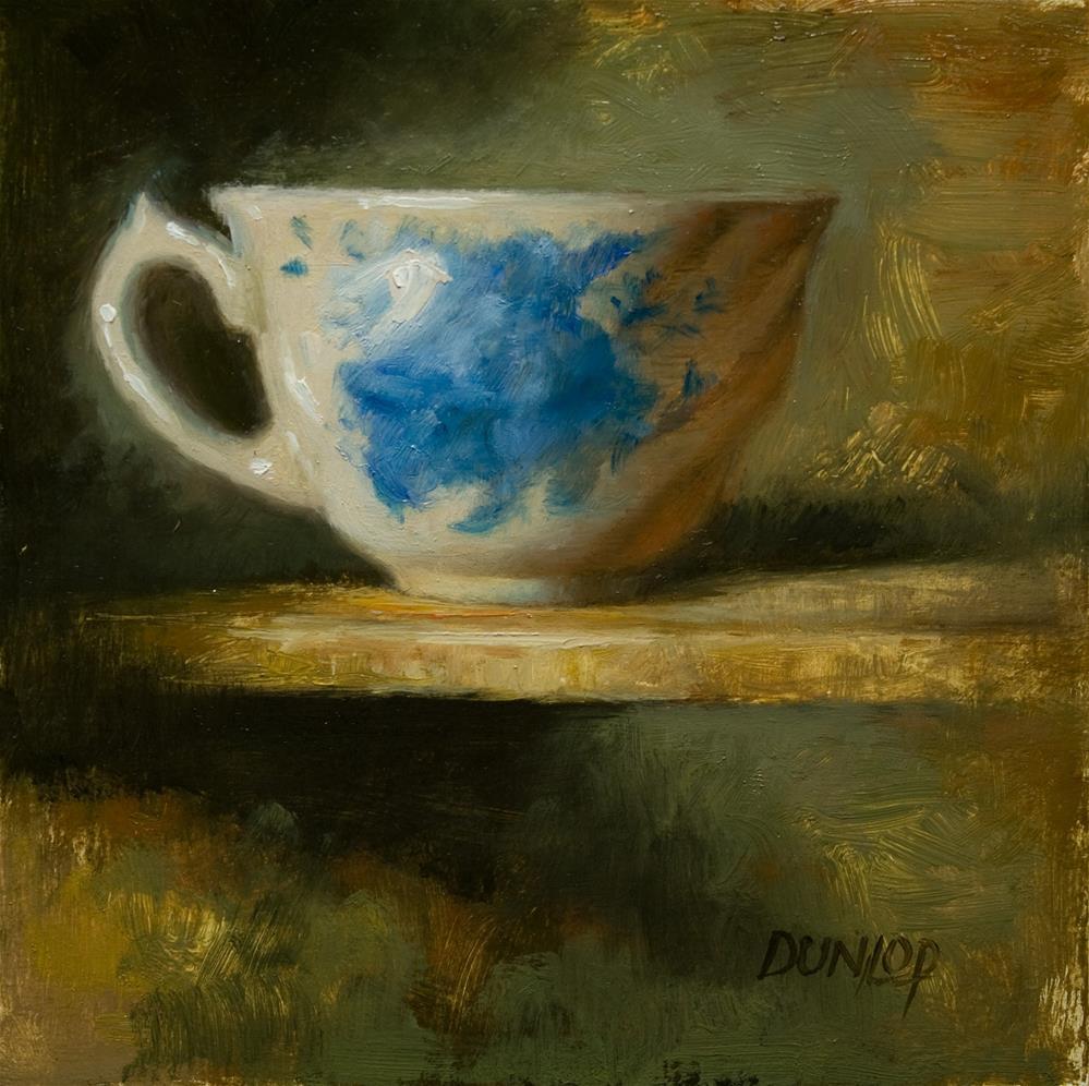 """Teacup #2"" original fine art by Bobbi Dunlop"