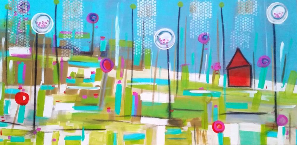 """Home Again"" original fine art by Christy Tremblay"