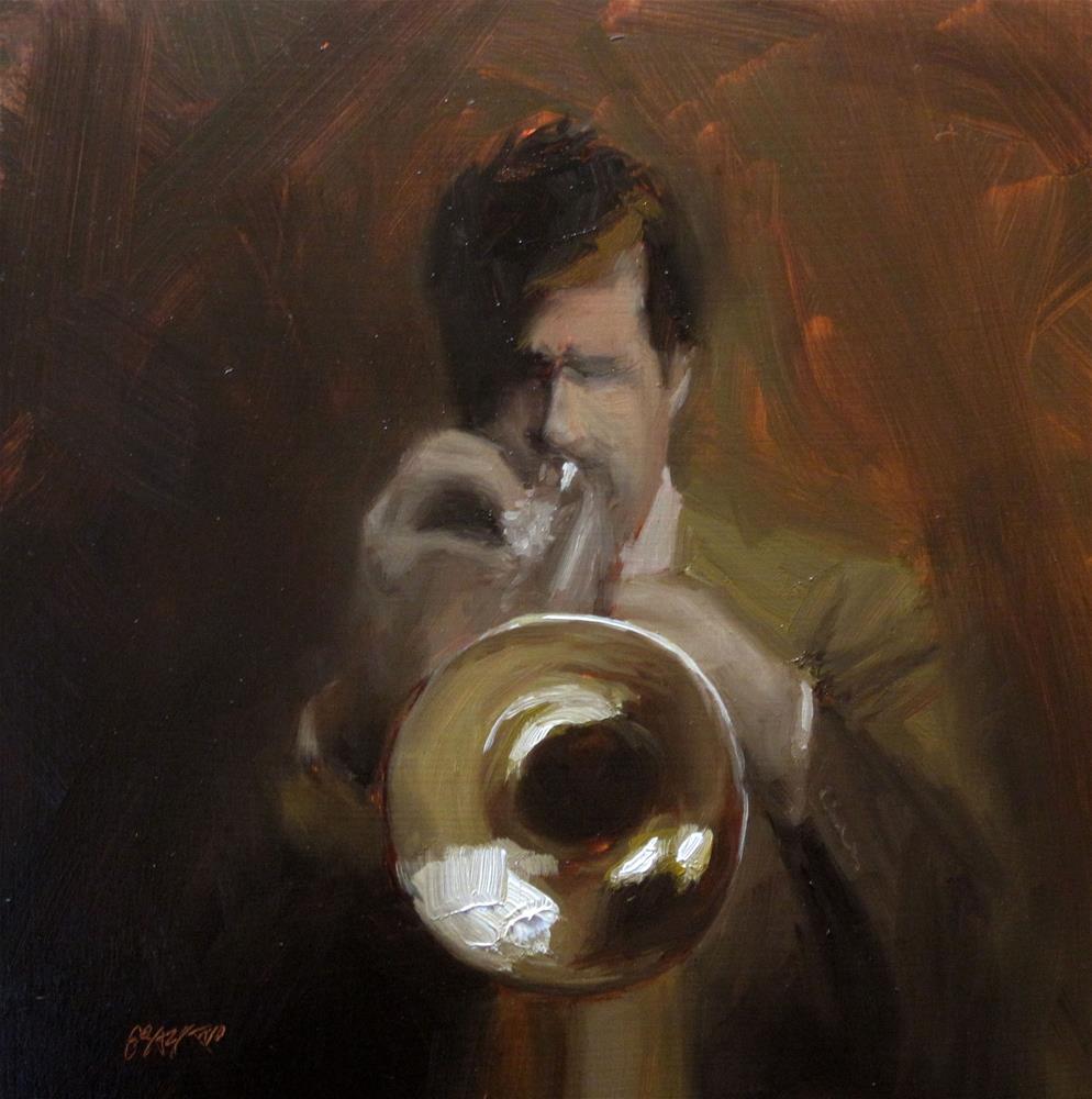 """""""solo break"""" original fine art by Dan Graziano"""