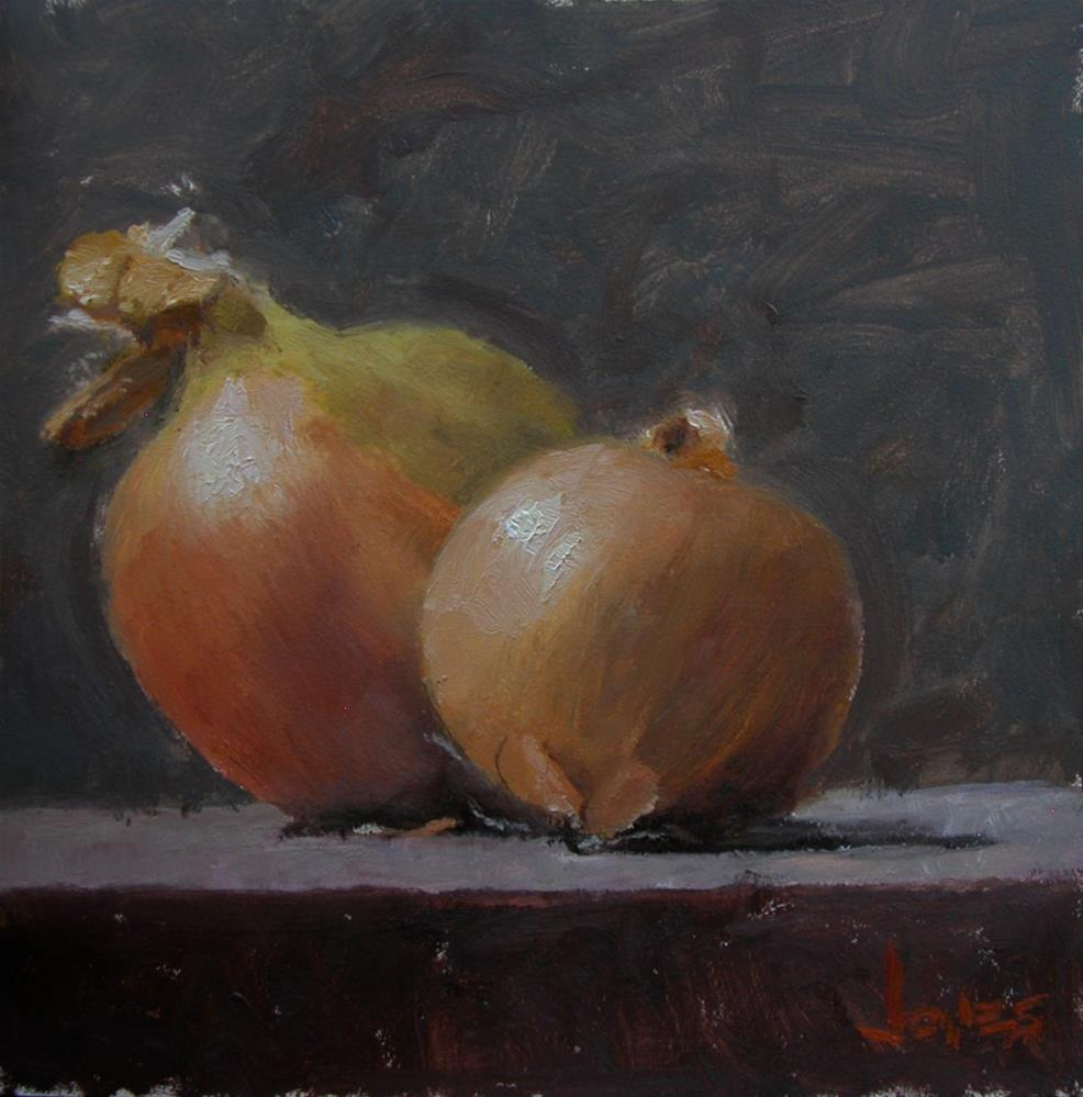 """Yellow Onions"" original fine art by Richard Jones"