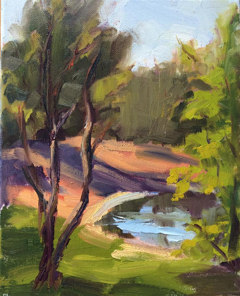 """Northstar Pond"" original fine art by Naomi Bautista"