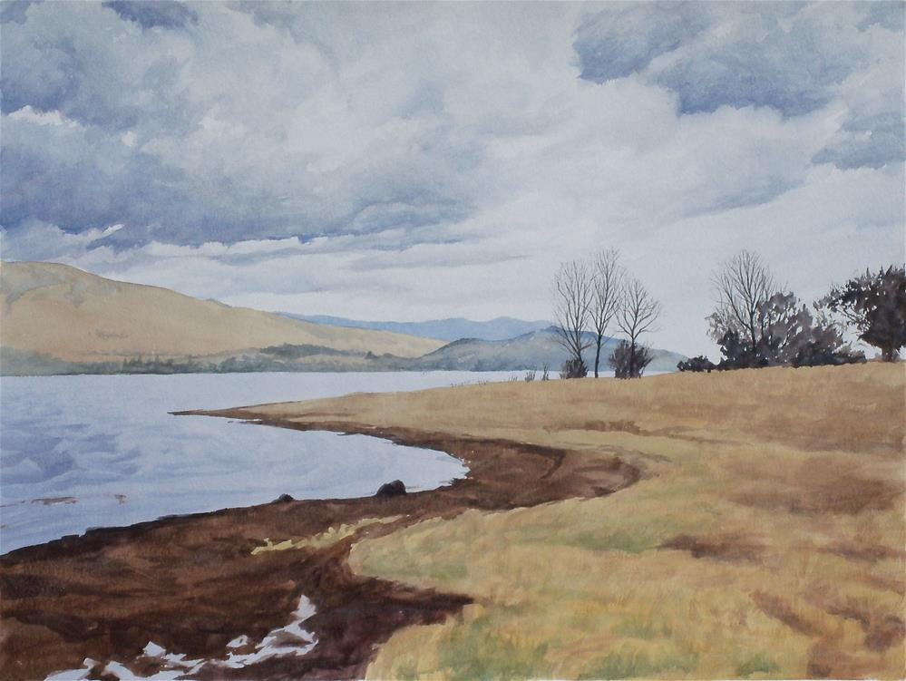 """Derwentwater"" original fine art by Greg Arens"