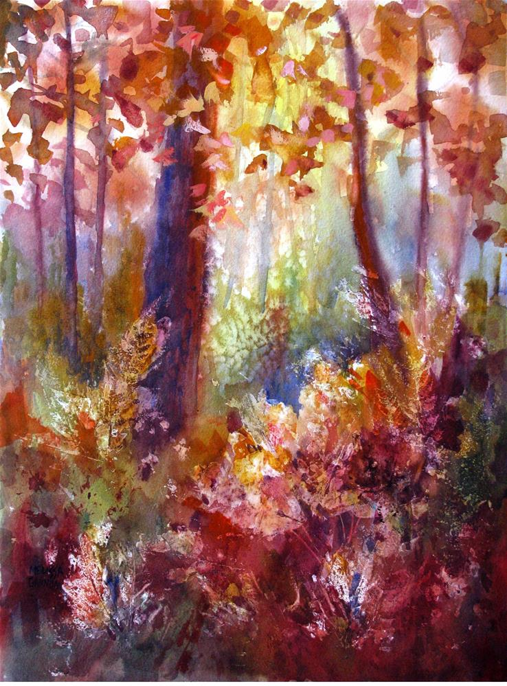 """Dappled Light"" original fine art by Melissa Gannon"