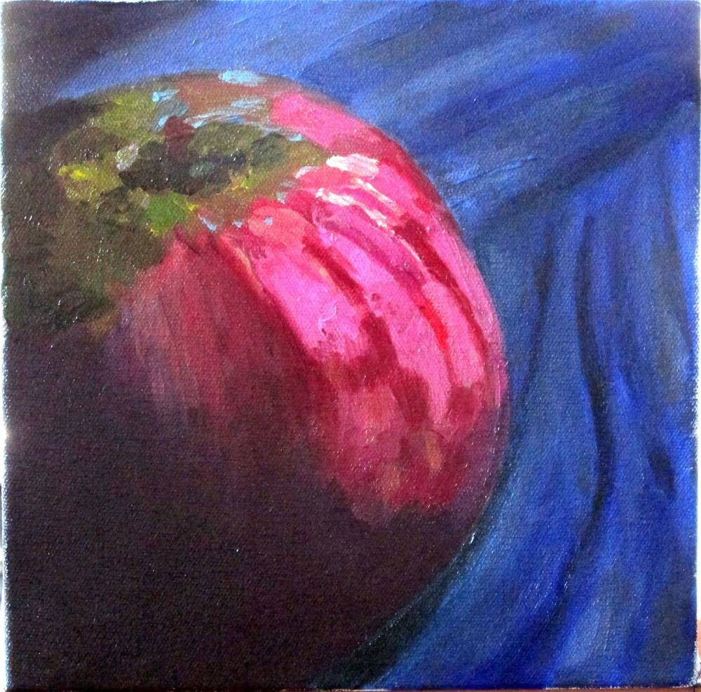 """Gravenstein Apple"" original fine art by Will Dargie"