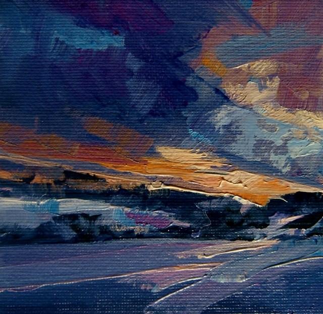 """Shared Landscape"" original fine art by Anne Wood"