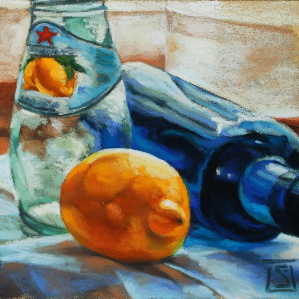 """Vodka Limonata"" original fine art by Sheila Evans"