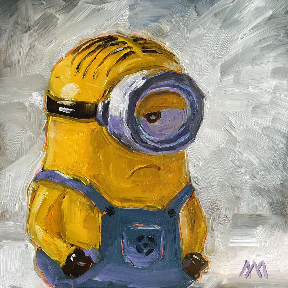 """""""Minion Bank"""" original fine art by Austin Maloney"""