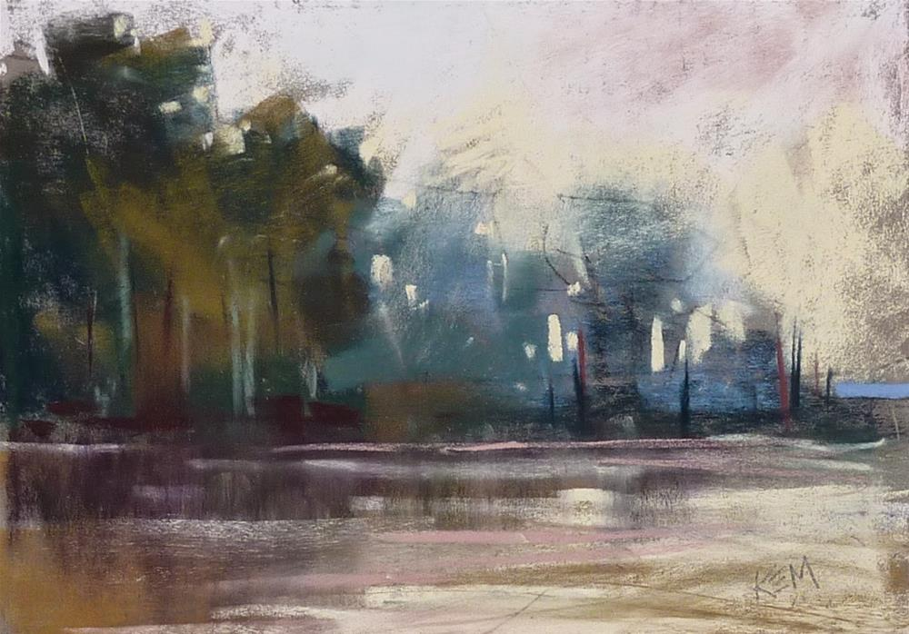 """""""Quick Tip: How to Sign a Pastel Painting"""" original fine art by Karen Margulis"""
