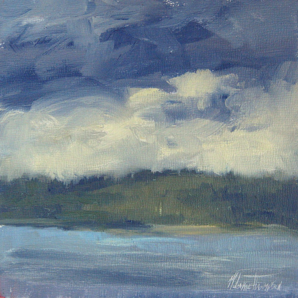 """Edmonds Plein Air II"" original fine art by Melanie Thompson"