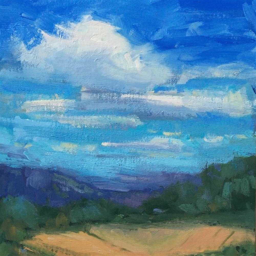 """Valley Low"" original fine art by Victoria  Biedron"