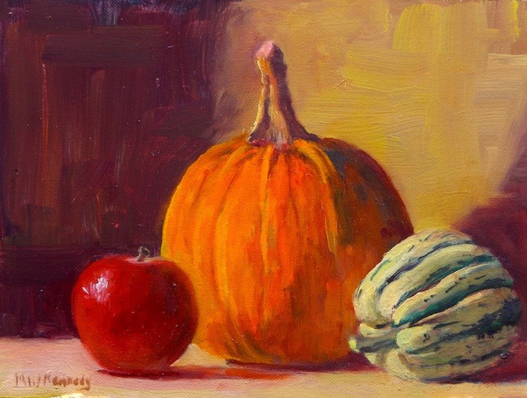 """Harvest"" original fine art by Michael Kennedy"