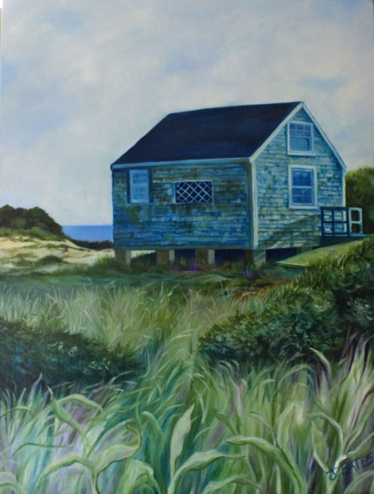 """""""Summer Isolation"""" original fine art by Jill Bates"""