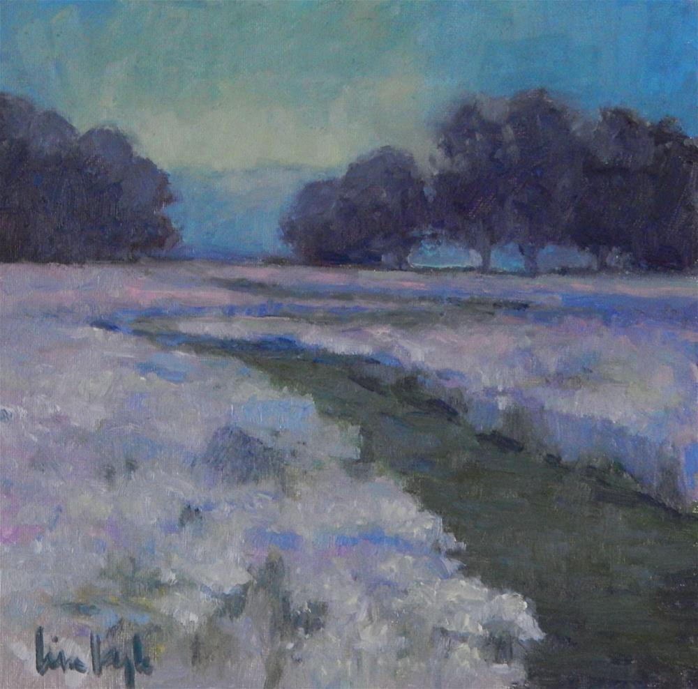 """""""Evening Wanderings"""" original fine art by Lisa Kyle"""