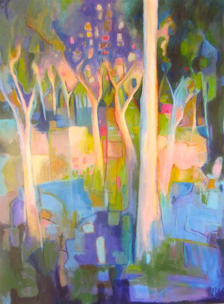 """Arcadian Woods"" original fine art by Patricia MacDonald"