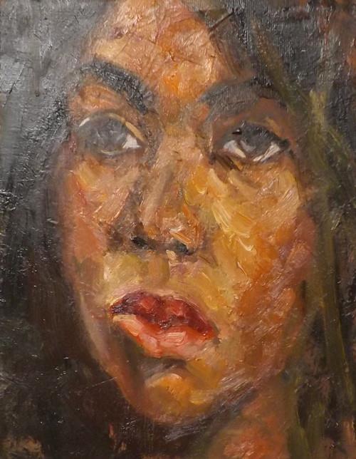 """workshop,o31"" original fine art by Run-      Zhang Zane"