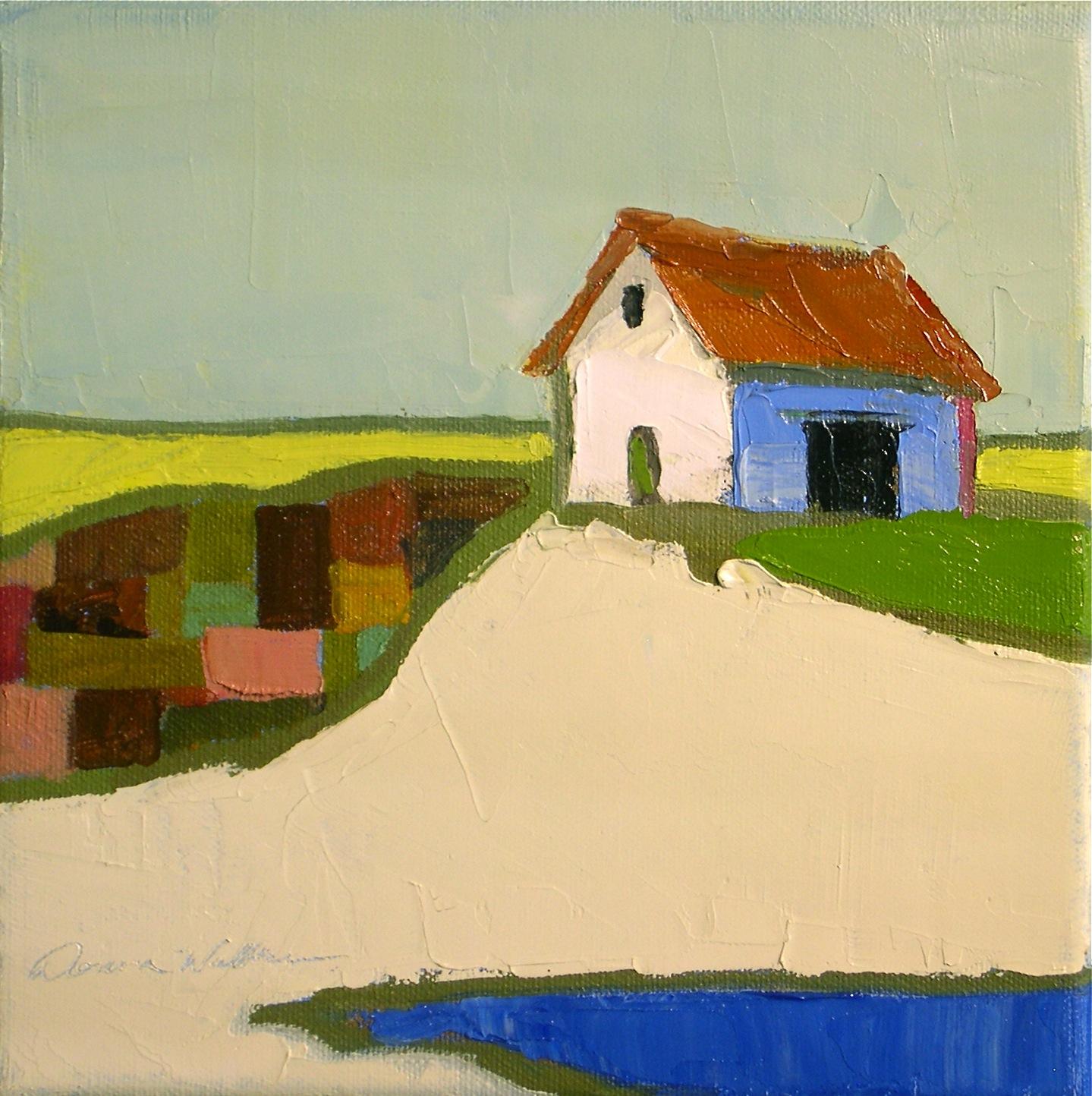 """Patch of Land"" original fine art by Donna Walker"