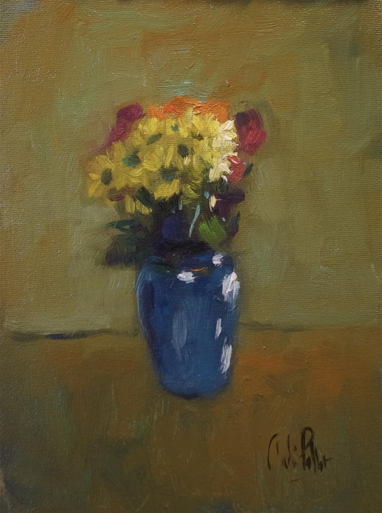"""'Supermarket Flowers'"" original fine art by Andre Pallat"