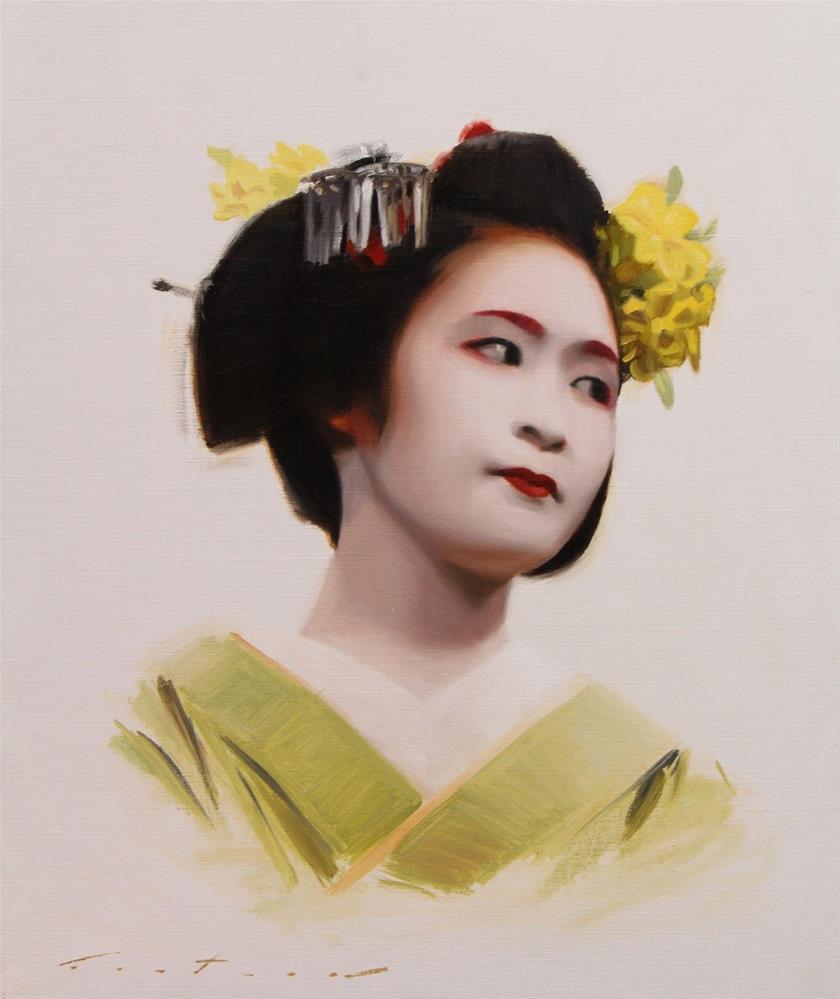 """""""Fukuharu"""" original fine art by Phil Couture"""