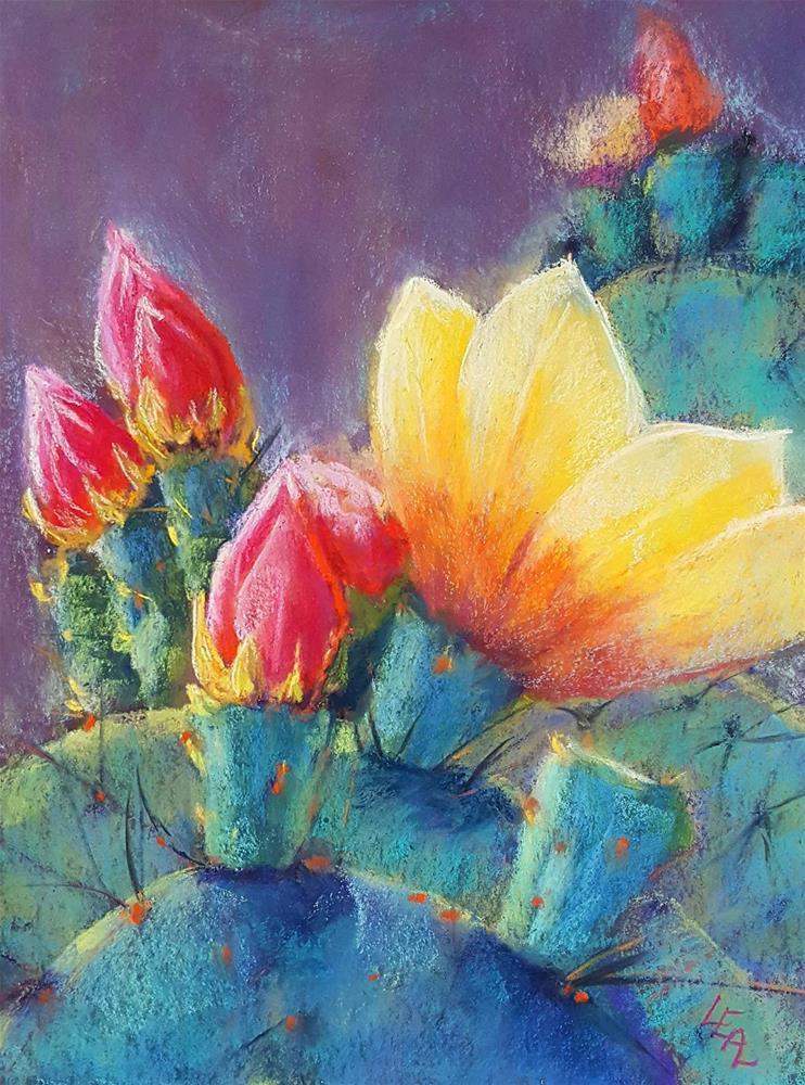 """Illuminated"" original fine art by Anna Lisa Leal"