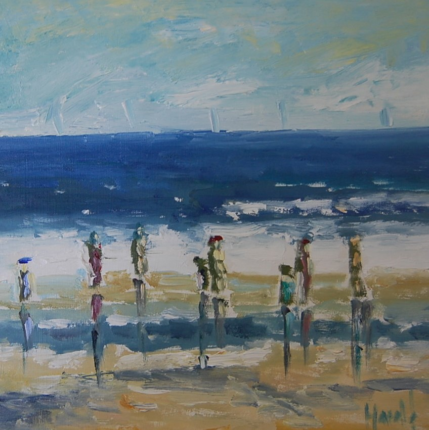 """SUMMER'S HERE"" original fine art by Deborah Harold"