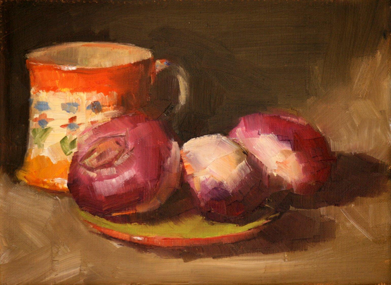 """colorful trio"" original fine art by Carol Carmichael"