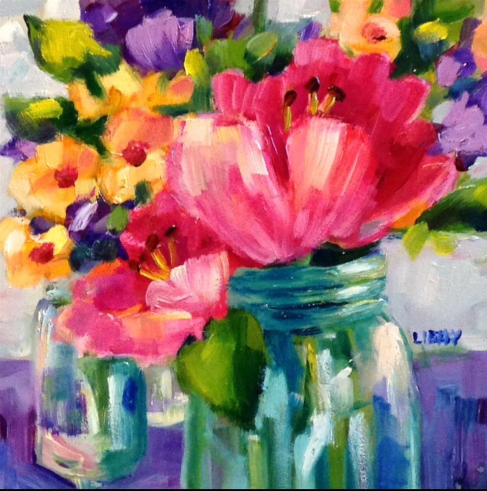 """""""Kismet"""" original fine art by Libby Anderson"""
