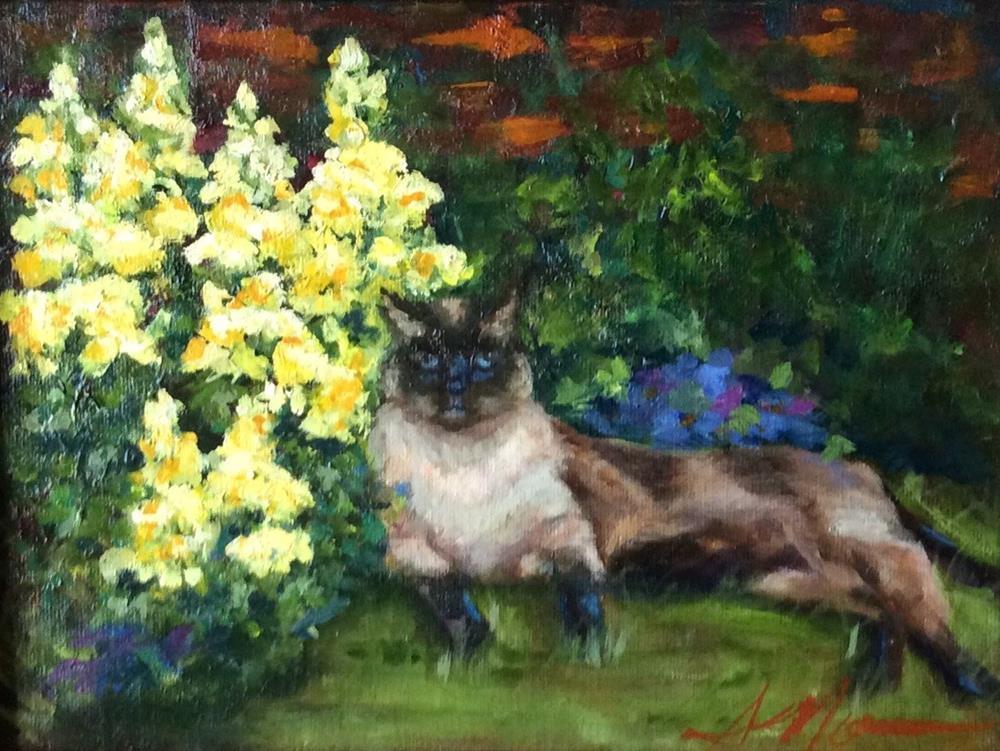 """"""" Summer Morning"""" original fine art by Susie Monzingo"""