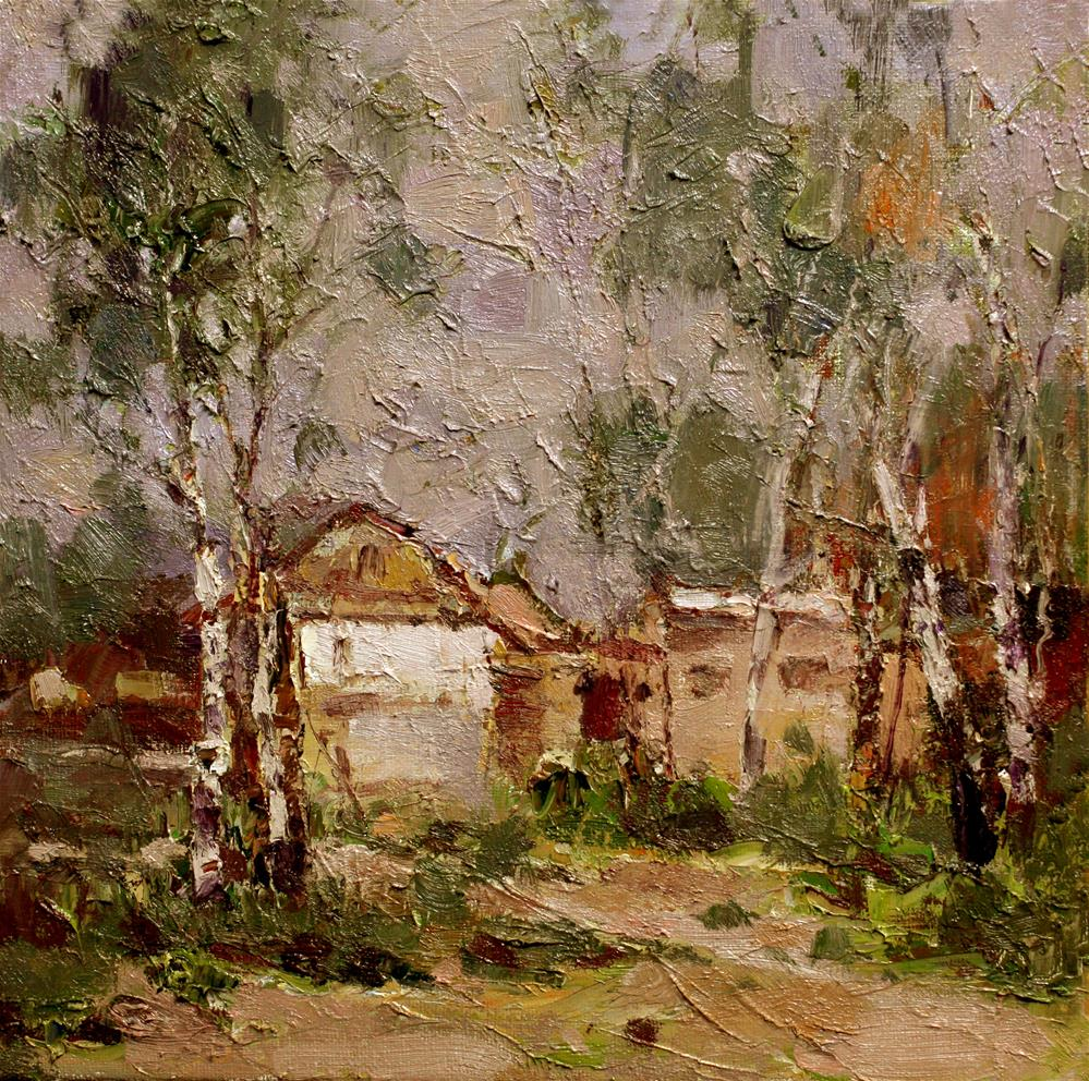 """Landscape"" original fine art by chunji xu"