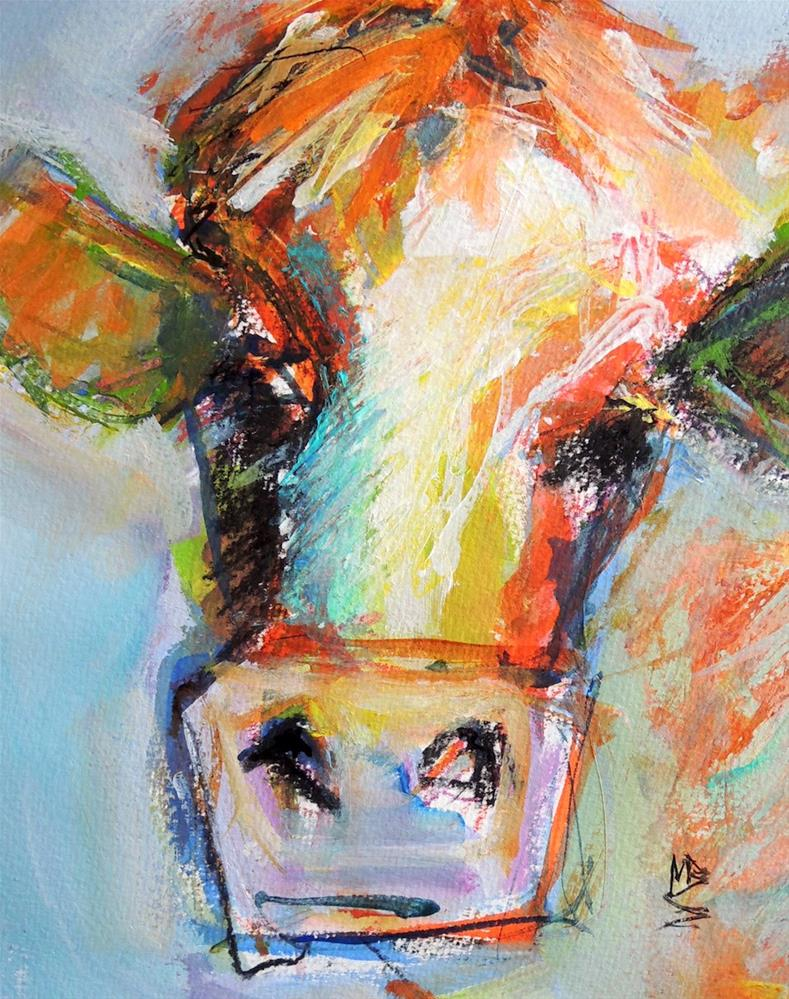 """Carrot Top"" original fine art by Mary Schiros"