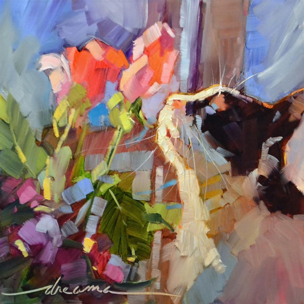 """Heaven S(c)ent"" original fine art by Dreama Tolle Perry"