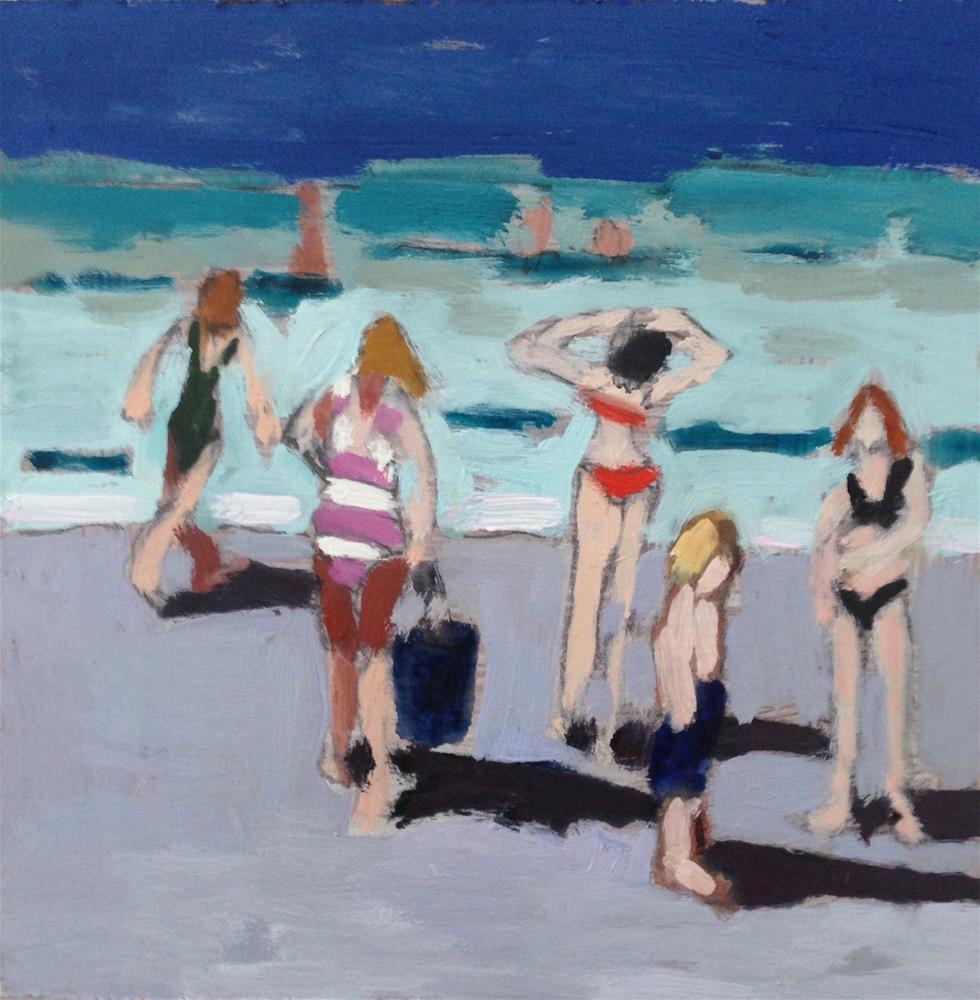 """Endless Summer"" original fine art by Pamela Hoffmeister"