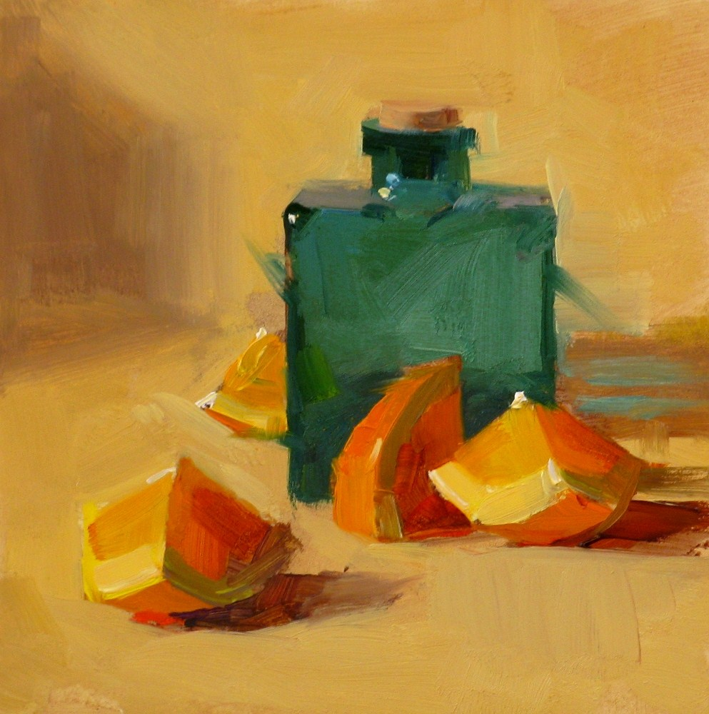 """Harmony Under Warm Light"" original fine art by Qiang Huang"