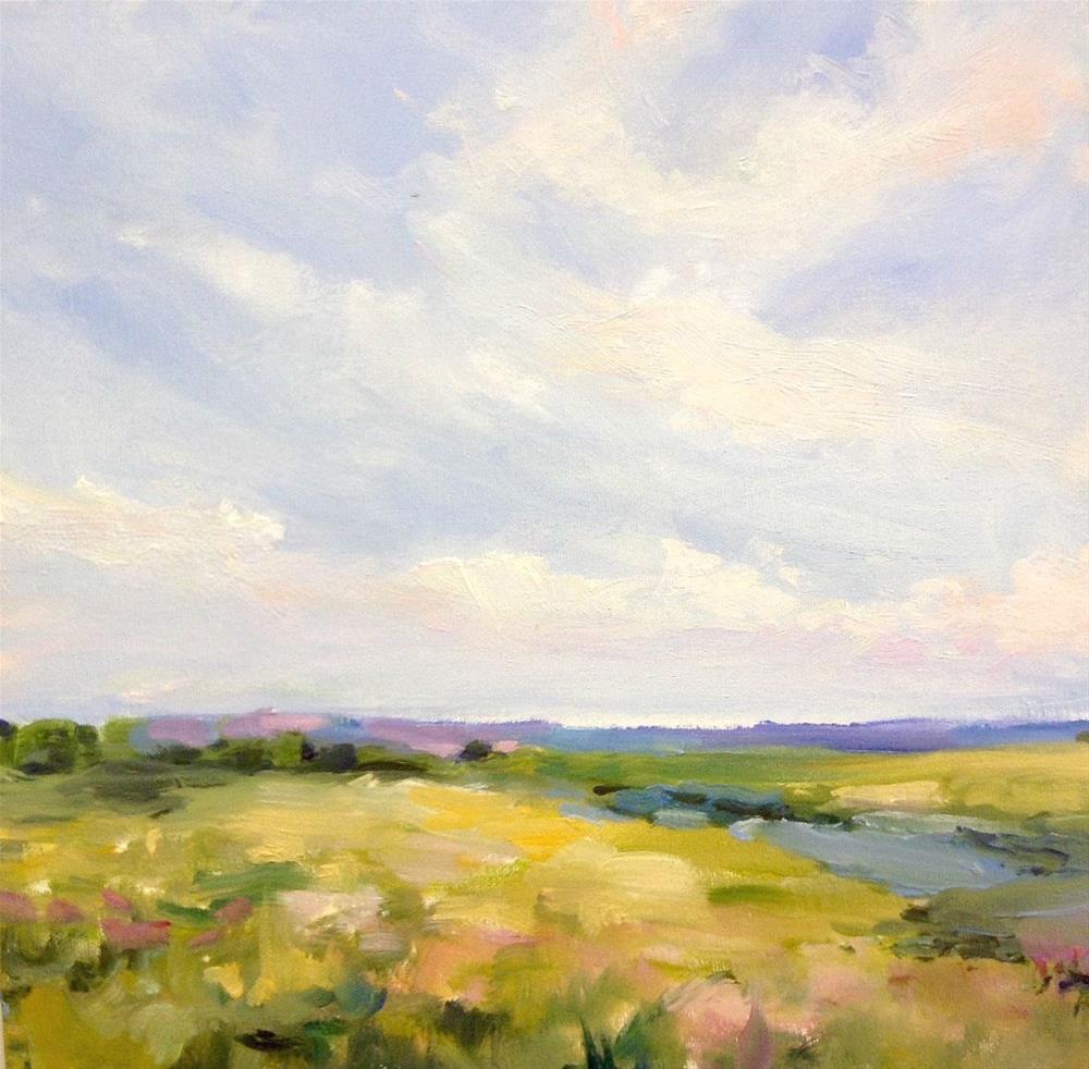 """""""Loving the Land"""" original fine art by Cathy Boyd"""