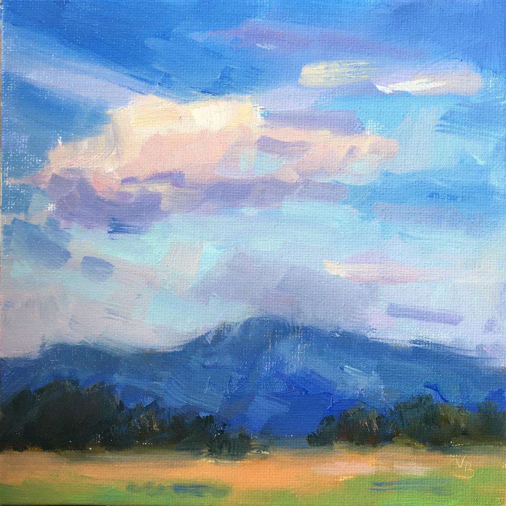 """""""Evening Plein Air"""" original fine art by Victoria  Biedron"""